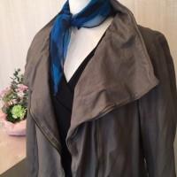 上質なスペイン製ラムレザーのコート